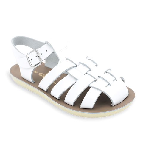 "Salt Water Sandal ""Sailor"" Sandal White"