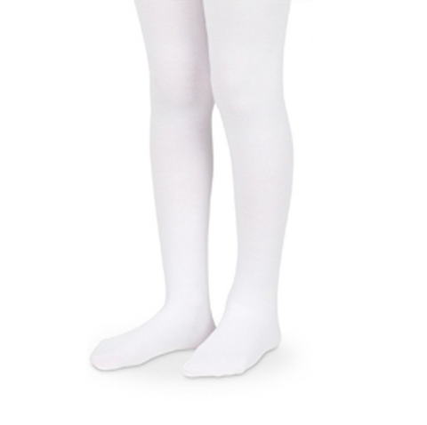 "Jefferies ""Smooth Microfiber Legs"" Tights White"