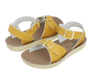 "Salt Water Sandal ""Surfer"" Mustard"