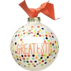"Coton Colors ""You're The Greatest"" Ornament"