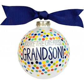 "Coton Colors ""You're The Greatest Grandson"" Ornament"