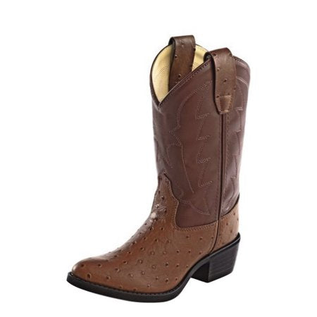 "Old West ""OJ9117"" Western Boot Cognac"