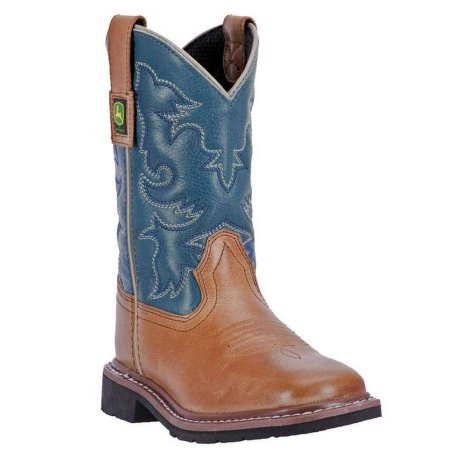 "John Deere ""JD2556"" Western Pull On Boots"