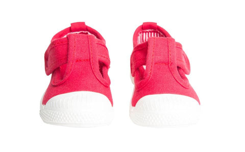 "Chus ""Chris"" T-Strap Sneaker Red"
