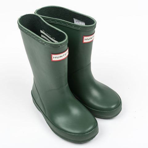 "Hunter Kids ""First Classic"" Wellington Boots Hunter Green"