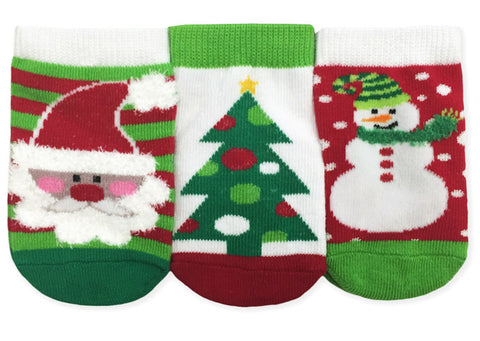 Jefferies Baby Socks Holiday 3 Pack
