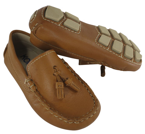 "Kone ""Linea"" Moccasin Loafer Natural Tan"