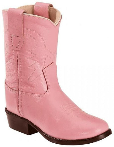 "Old West ""3119"" Western Boot Pink"