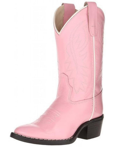 "Old West ""8119"" Western Boot Pink"