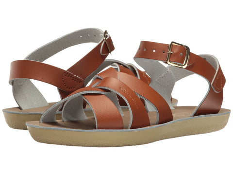"Salt Water Sandal ""Swimmer"" Sandal Tan"