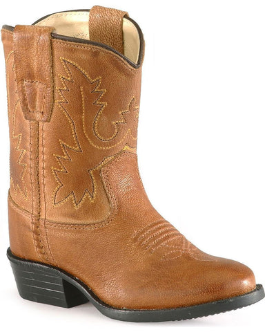 "Old West ""3129"" Western Boot Tan"