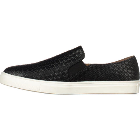 "Wanted Women's ""Boca"" Slip-On Sneaker Black"