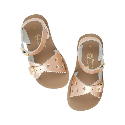 "Salt Water Sandal ""Sweetheart"" Sandal Rose Gold"