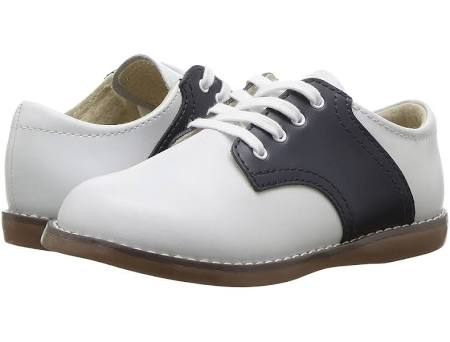 "FootMates ""Cheer"" White/Navy"