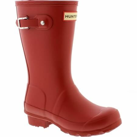 "Hunter Juniors ""Original"" Wellington Boots Military Red"