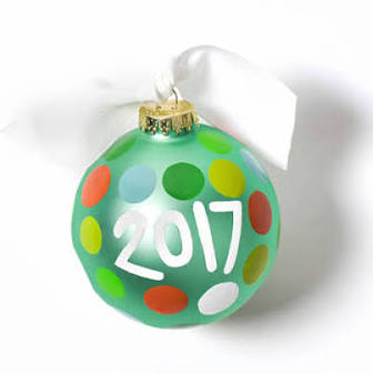 "Coton Colors ""2017"" Ornament"