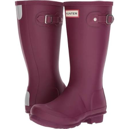 "Hunter Juniors ""Original"" Wellington Boots Bright Violet"