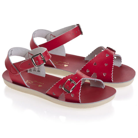 "Salt Water Sandal ""Sweetheart"" Sandal Red"