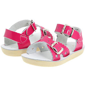 "Salt Water Sandal ""Sweetheart"" Sandal Shiny Fuchsia"
