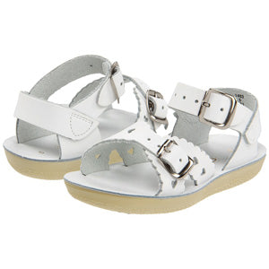 "Salt Water Sandal ""Sweetheart"" Sandal White"