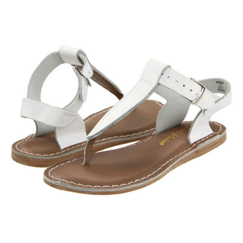 "Salt Water Sandal ""T-Thong"" Sandal White"
