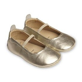 "Old Soles ""Luxury"" Ballet Flat Gold"