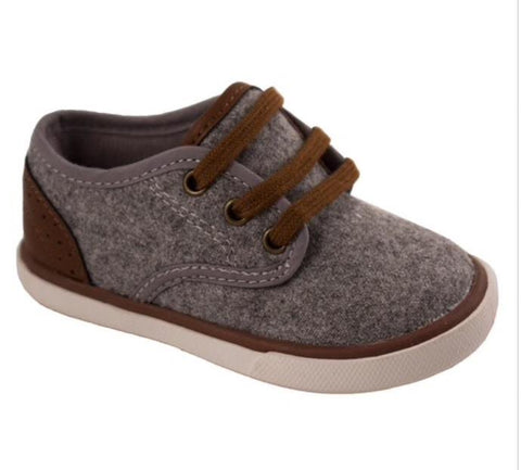 Baby Deer Grey Wool Sneaker