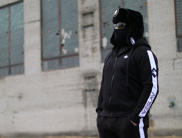 Black Edition Zip Hoodie *LIMITED* - LifeOfBoris