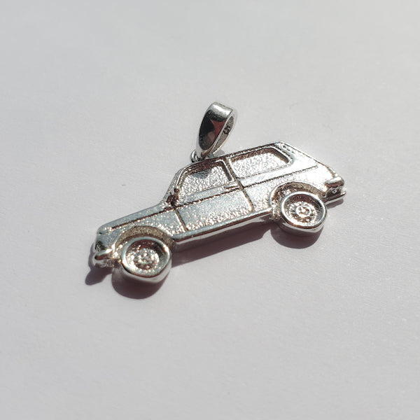 Slav King machine pendant (real 925 silver) - LifeOfBoris