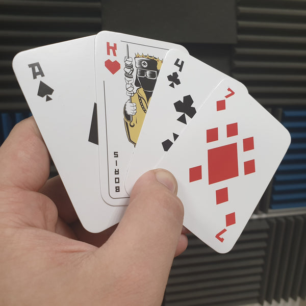 Deck of Slav - Retro playing cards - LifeOfBoris