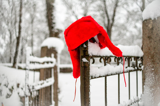 Red Handmade Ushanka - LifeOfBoris