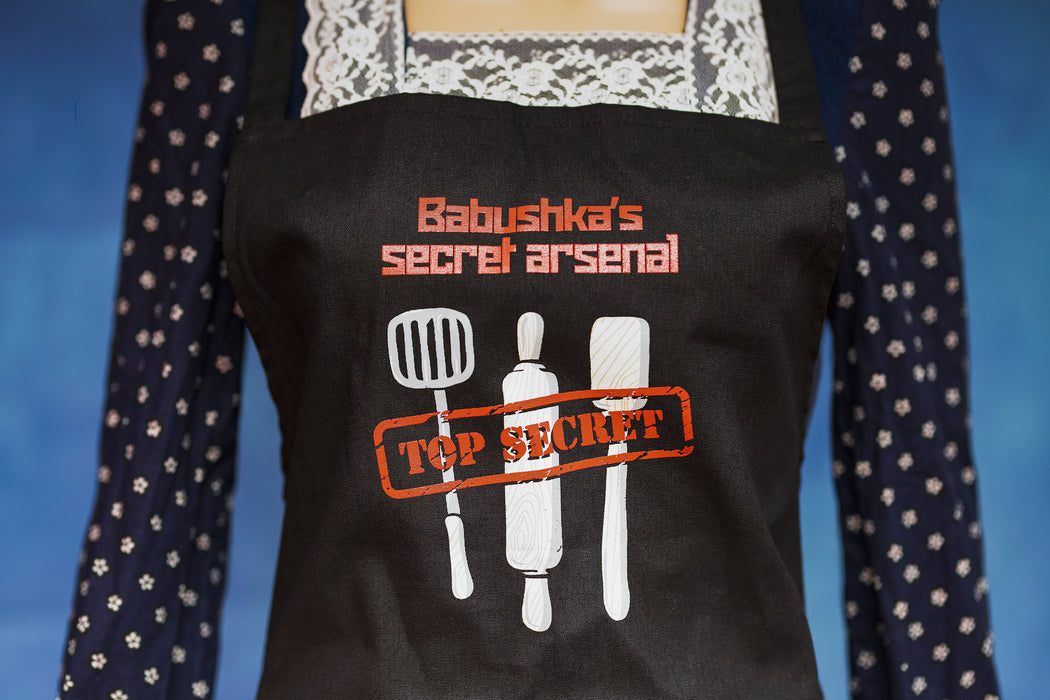 Babushka's Arsenal apron - LifeOfBoris