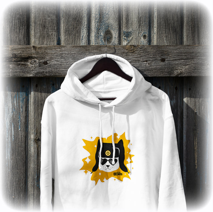 Artyom Superstar - white hoodie - LifeOfBoris