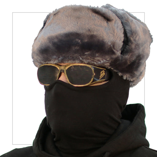 Grey Handmade Ushanka - LifeOfBoris