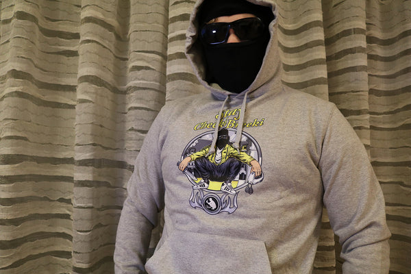 Stay Cheeki Breeki Hoodie Grey