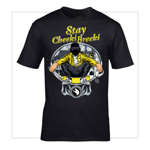 Stay Cheeki Breeki T-Shirt - LifeOfBoris