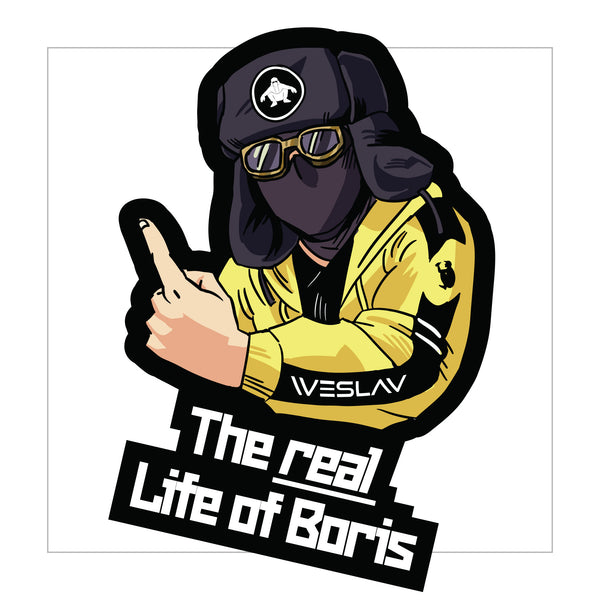 The real Life of Boris sticker - LifeOfBoris