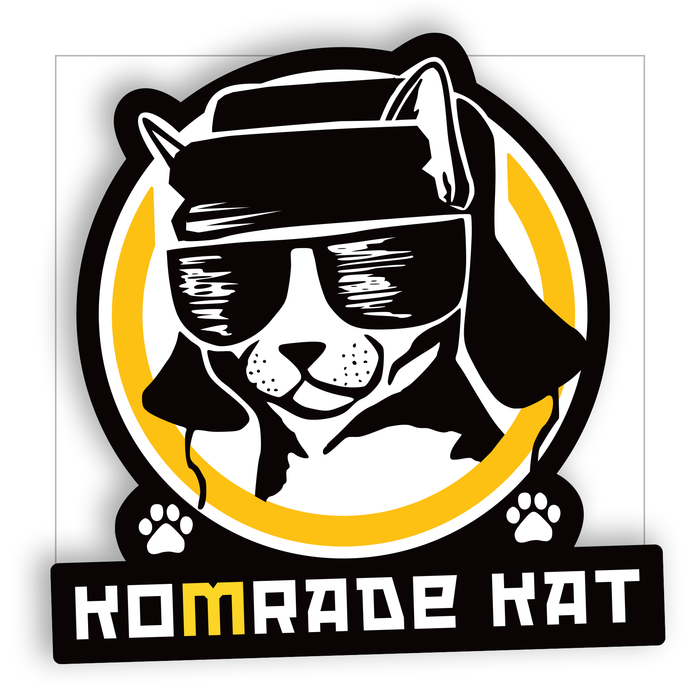 Komrade Kat sticker - LifeOfBoris