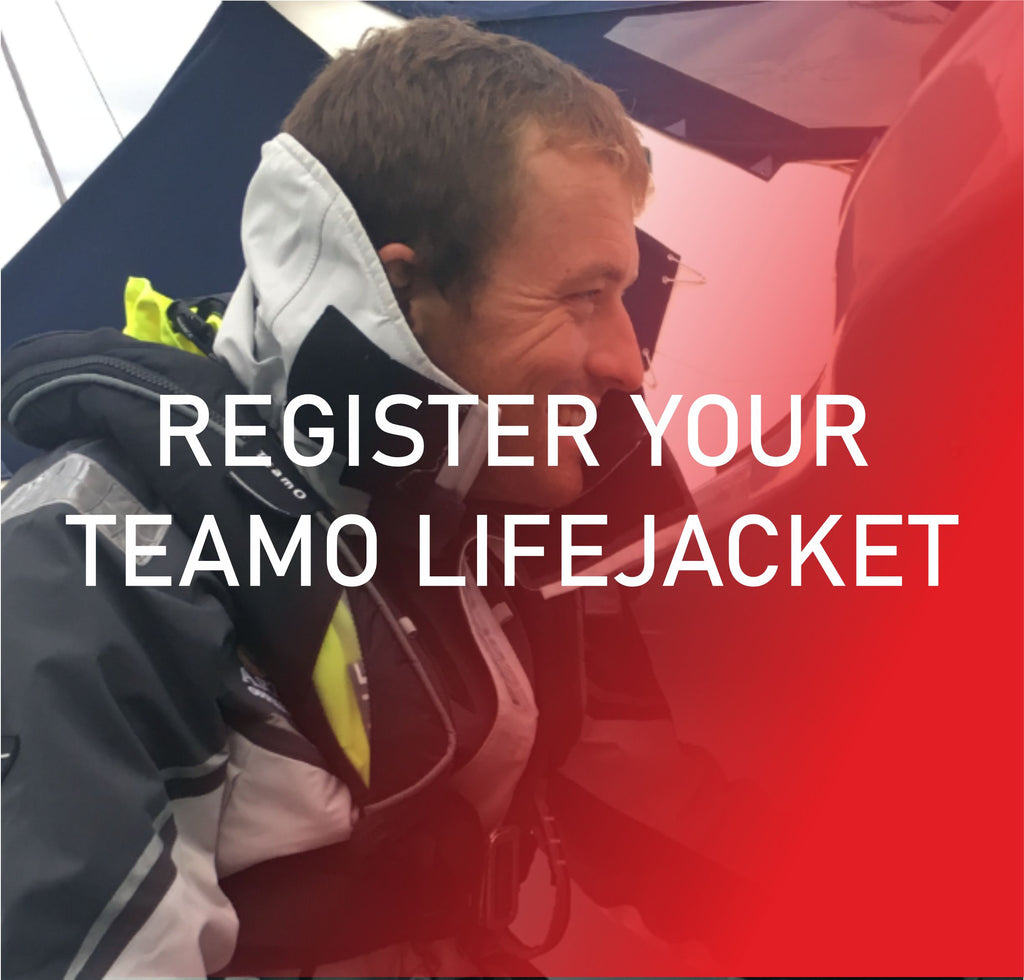 Register your TeamO lifejacket