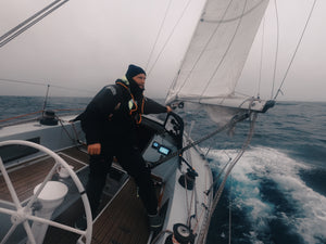 Sailing Across the North Sea in Winter: Erik Aanderaa