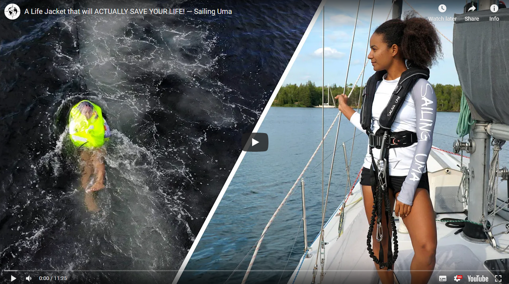 Sailing Uma Reviews TeamO BackTow Lifejackets