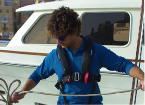 The TeamO Coastal Lifejacket Deckharness