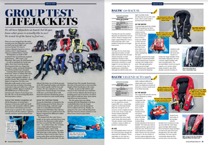 Yachting Monthly Recommends BackTow Lifejacket