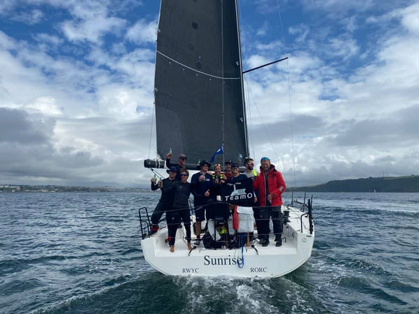 Sailing race yacht, TeamO Marine Lonely Rock Race, Thomas Kneen, Sunrise Racing Team, JPK1180