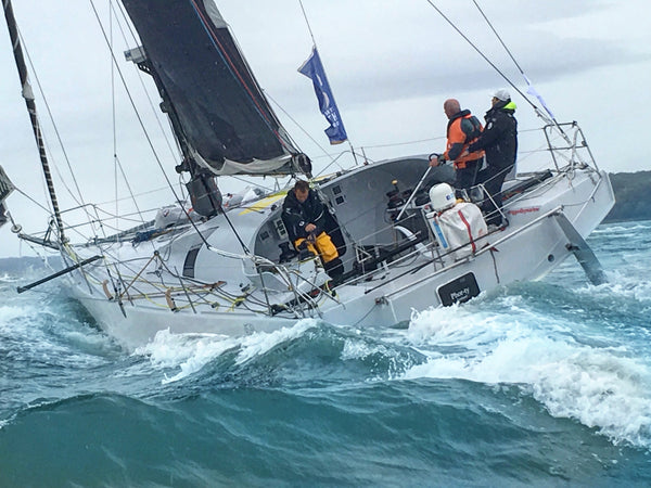 Sam Goodchild Racing Sailing Offshore solo sail