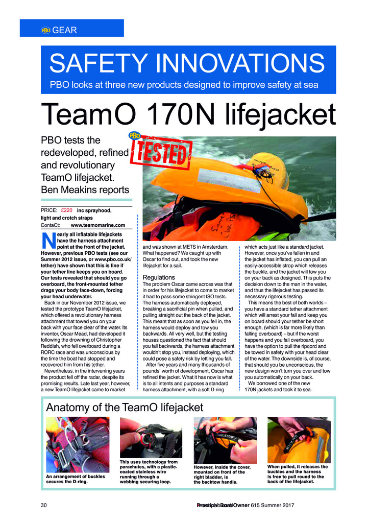 Practical Boat Owner TeamO Marine Product Review Page 1