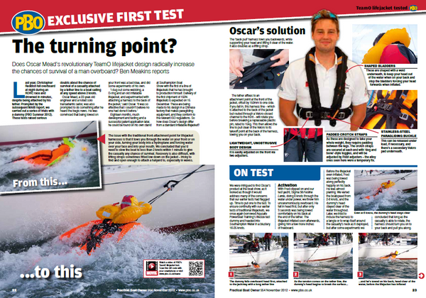 Practical boat owner magazine teamO Backtow review