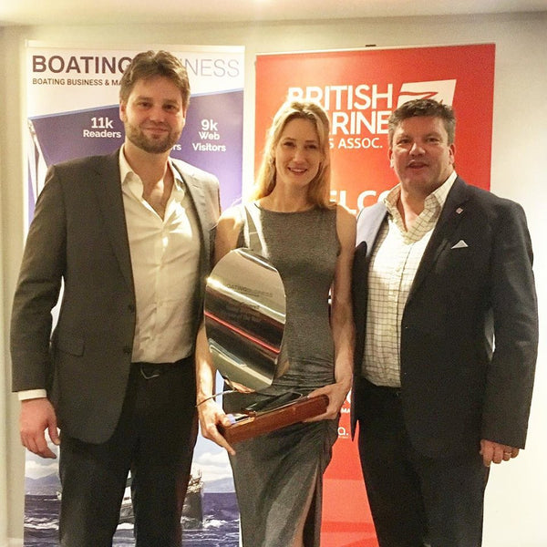 Lauren Mead, Oscar Mead, Ian Cooke, British Marine Federation Awards 2019, Young Business Person of the Year