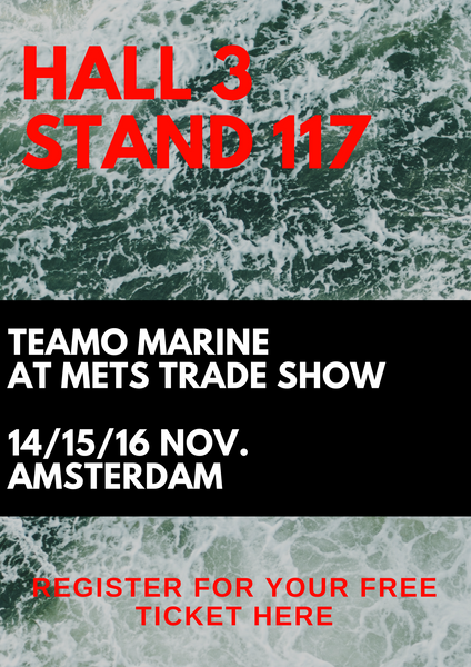 METs trade show Amsterdam, Marine Industry, Marine Safety Products, TeamO Marine, Backtow lifejacket, lifejacket harness, lifevest, deckvest