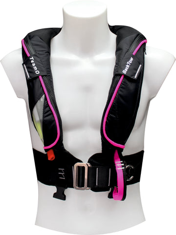 LIMITED EDITION Black and Pink 170N BackTow Lifejacket